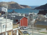 Looking out the narrows of St. John's Harbour.
